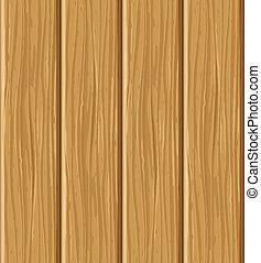 La tabla de madera sin textura