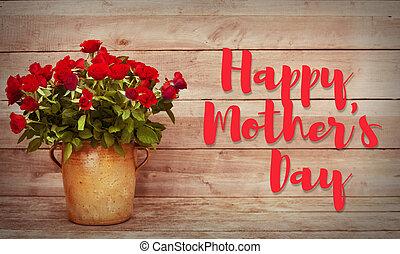 La tarjeta de felicitación del día de la madre