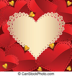 La tarjeta de San Valentín