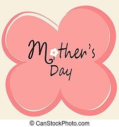 La tarjeta del día de la madre