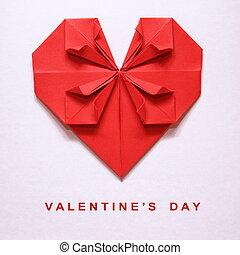 La tarjeta del día de San Valentín