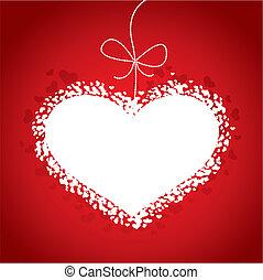 La tarjeta roja de San Valentín