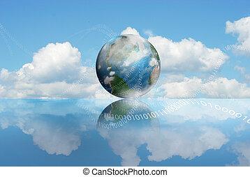 La tecnología de computación de nubes