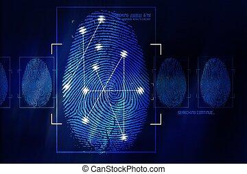 La tecnología de escaneo de huellas digitales