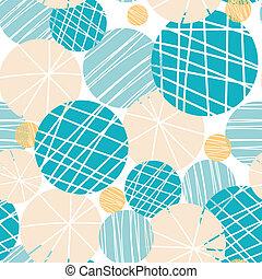 La textura da círculos abstractos de fondo sin costura