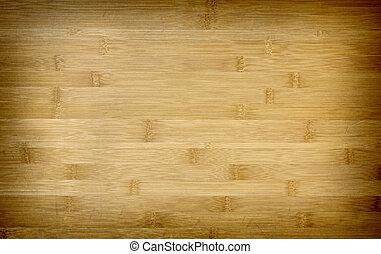 La textura de bambú