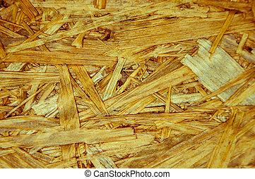 La textura de la losa arbórea