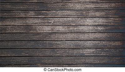 La textura de la madera oscura