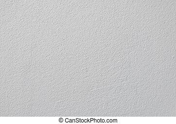 La textura de la pared blanca