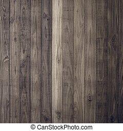 La textura de la pared de madera marrón