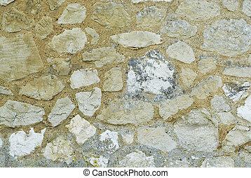 La textura de la vieja pared de la iglesia.