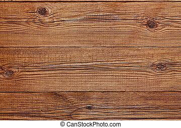 La textura de madera marrón con patrones naturales.