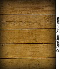 La textura de madera marrón con patrones naturales