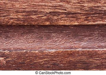 La textura de madera marrón