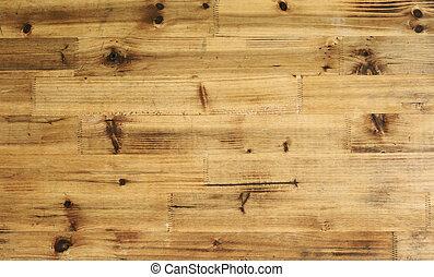 La textura del viejo panel de madera de corteza se usa para multipropósitos