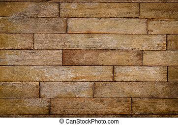 La textura del viejo panel de madera se usa para el fondo multipropósito