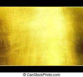 La textura dorada del lujo.