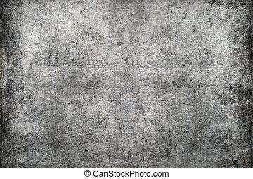 La textura metálica