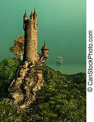 La torre de los magos