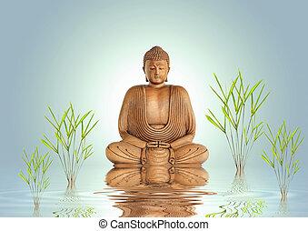 La tranquilidad de Buda
