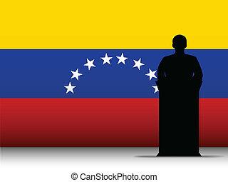 La tribuna del discurso de Venezuela tiene antecedentes