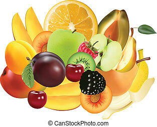 La variedad de frutas exóticas