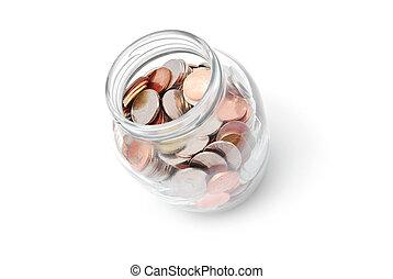 La vasija de las monedas