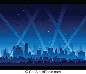 La vida nocturna de la ciudad