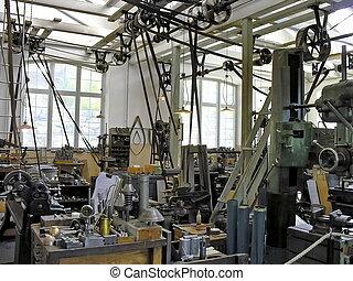 La vieja fabricación industrial