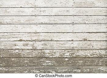 La vieja pared blanca y rústica del establo