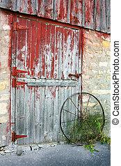 La vieja puerta del establo