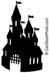 La vieja silueta del castillo