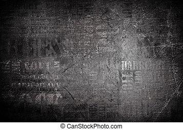 La vieja textura de la pared