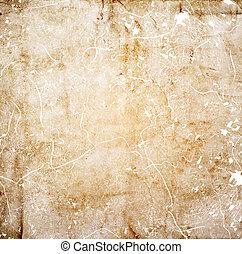 La vieja textura de papel