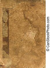 La vieja textura de papel.