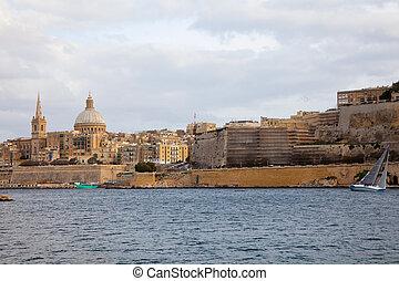 La vista de la valita. Malta