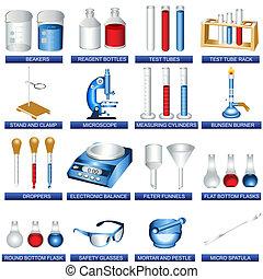 laboratorio, herramientas