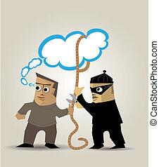 ladrón, ideas
