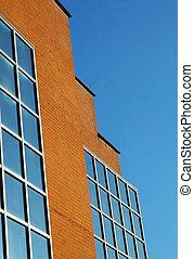 Ladrillos y vidrio