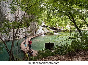 Lago en Croacia