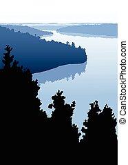 Lago Rustic norte