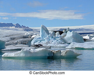laguna, glaciar