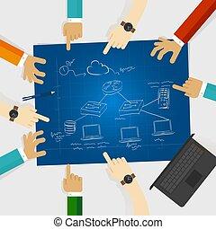lan, red de computadoras, cable, área, servidor, conexión, cliente, diseño, arquitectura, rúter, local, icono