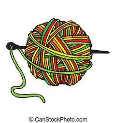 lana, cápsula