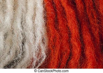 lana, fibras