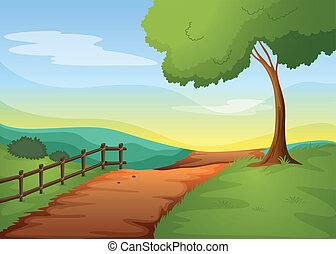 landcape, rural