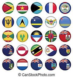 Las banderas americanas son suaves