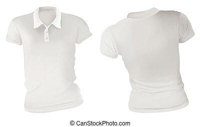 Las camisas blancas de polo