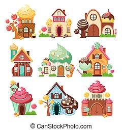 Las casas de dulces son iconos
