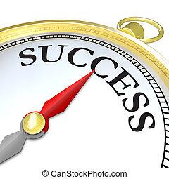 Las flechas principales apuntan al éxito